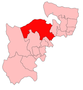 Harrow East (UK Parliament constituency) - Hendon highlighted among the other seats in the abolished administrative county of Middlesex 1918-45; the north-west and west boundaries of Middlesex became the Greater London boundaries in 1965.  This shows the area of most revisions of the seat to occupy the west part of the former Hendon seat more than Harrow East's other forerunner, Harrow.