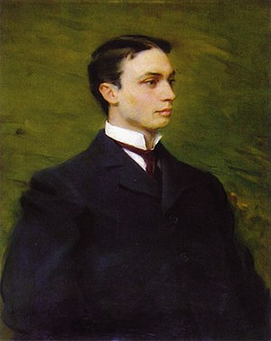 Houston Hall (University of Pennsylvania) - Henry Howard Houston Jr by Cecilia Beaux, 1895