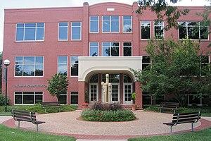 Hesston, Kansas - Alliman Center on Hesston College campus