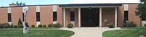 Hesston, Kansas - Mary Miller Library at Hesston College (2007)