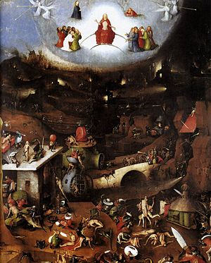 The Last Judgment (Bosch triptych) - The central Last Judgement.