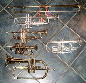 Brass instrument - Image: High brass x 6 large