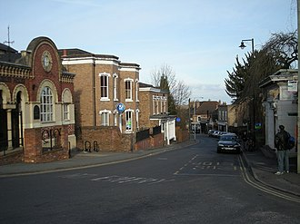 Madeley, Shropshire - Image: High St, Madeley geograph.org.uk 729931