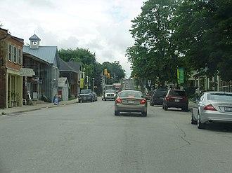 Innisfil - Highway 89 through Cookstown