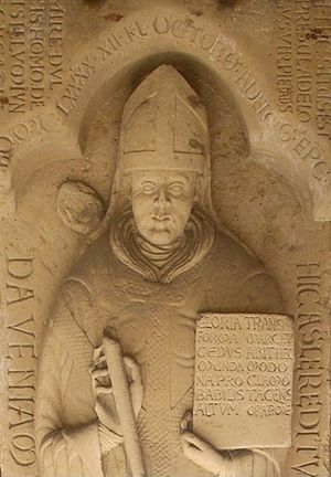 Adelog of Hildesheim - Epitaph, Hildesheim Cathedral