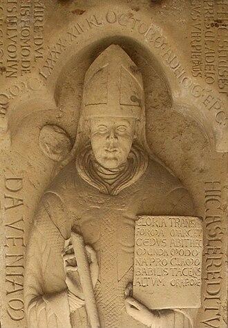 Adelog of Hildesheim - Epitaph, Hildesheim Cathedral