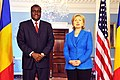 Hillary Clinton meets with Chadian Minister of Foreign Affairs Moussa Faki, July 2009-3.jpg