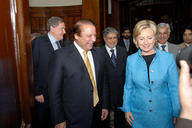 Hillary Rodham Clinton with Nawaz Sharif.jpg
