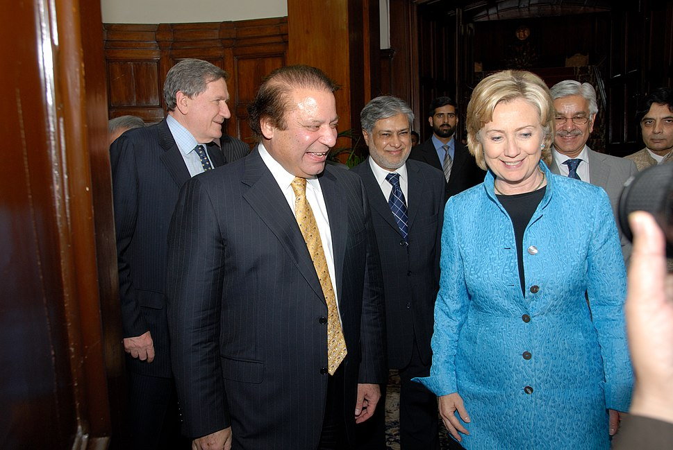 Hillary Rodham Clinton with Nawaz Sharif.jpg