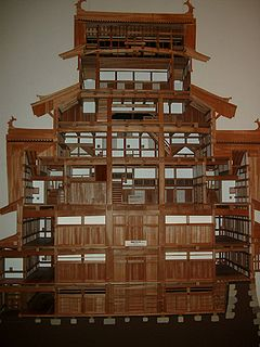 <i>Tsuitate</i> Traditional Japanese single-panel portable partition