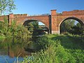 Hockley Viaduct spans River Itchen - geograph.org.uk - 54131.jpg