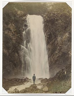 Hodo Falls at Nikko by Raimund von Stillfried