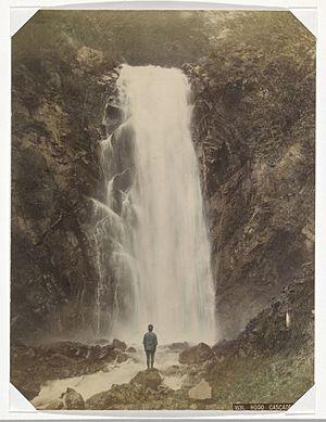 Baron Raimund von Stillfried - Image: Hodo Falls at Nikko by Raimund von Stillfried