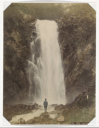 Baron Raimund von Stillfried - Image: Hodo Falls at Nikko by Raimund von Stillfried