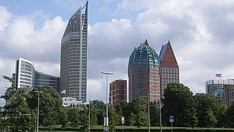 Hoftoren - Image: Hoftoren + Castalia Skyline Den Haag