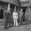 Hoge Veluwe (Conferentie Nederland Nederlands Indie ) ( Prof. Schermerhorn en In, Bestanddeelnr 901-6538.jpg