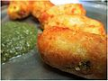 Home Made Bread Rolls with Mint Chutney.jpg