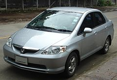 Honda City IV przed face liftingiem