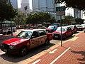 Hong Kong taxi queue.jpg