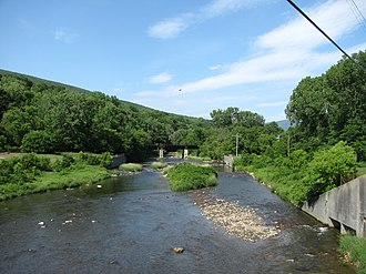 Hoosic River - Hoosic River in North Adams, Massachusetts