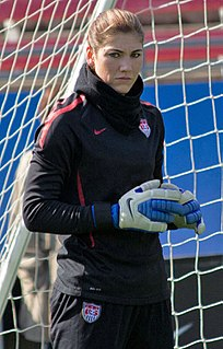 Hope Solo American association football player