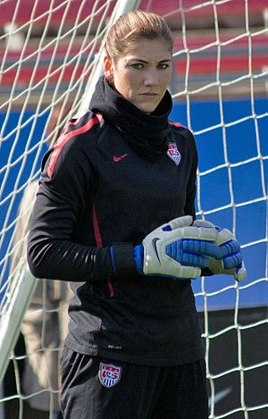 Hope Solo - Solo training with the U.S. women's national team in 2012