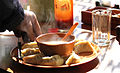 Hot Momo (dumpling) at Ladakh Photographed by Sumita Roy.jpg