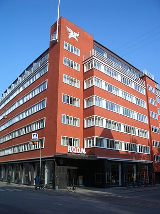 Fiolstræde - Hotel Sankt Petri.