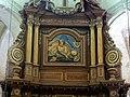 Houdan (78), église Saint-Jacques et Saint-Christophe, chœur, retable du maître-autel, attique - Dieu le Père.jpg