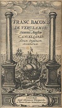 """""""Novum Organum"""", 1620"""