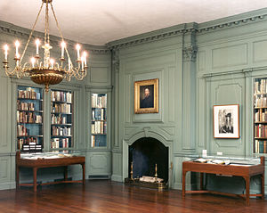 Houghton Library - The Edison and Newman Room at Houghton