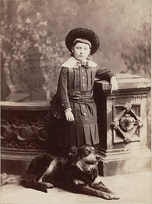 Amy Lowell - Lowell as a child