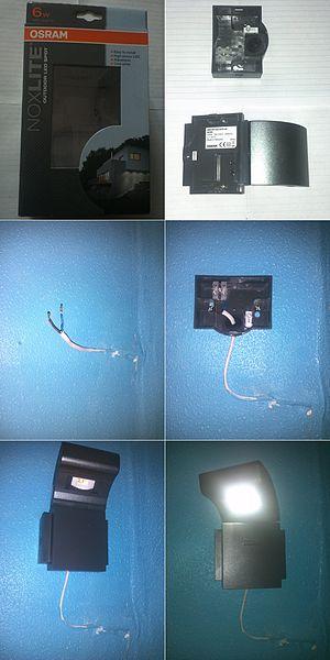 file how to install osram noxlite 41010 jpg wikimedia. Black Bedroom Furniture Sets. Home Design Ideas