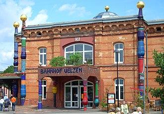 Uelzen - Hundertwasser Station Uelzen