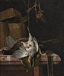 Hunting Still Life by Hendrik de Fromantiou Bonnefantenmuseum 597.jpg