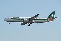 I-BIXN - A321 - Alitalia
