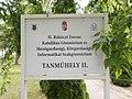 II. Rákóczi Ferenc iskola, Tanműhely II., 2019 Kiskunhalas.jpg