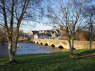Holycross - Holycross Bridge and abbey