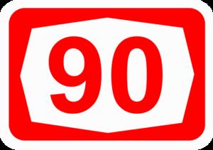 Highway 40 (Israel) - Image: ISR HW90