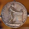 Iacopo nizzola da trezzo, medaglia di isabella capua gonzaga, 1552 circa, verso.JPG
