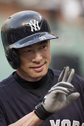 Ichiro Suzuki - Yankees @ Orioles - Sept 10, 2013.jpg