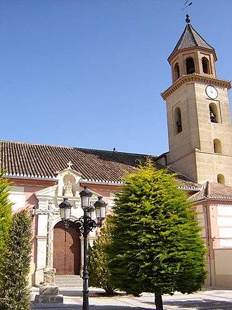 Valle de Lecrín - Church of Santa María la Mayor, in El Padul.