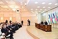 Ilham Aliyev and Israeli Prime Minister Benjamin Netanyahu made press statements, 2016 01.jpg