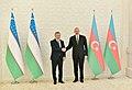 Ilham Aliyev met with President of Uzbekistan Shavkat Mirziyoyev, 2019 02.jpg