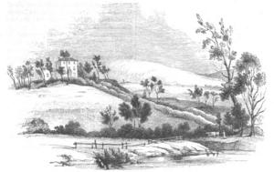 Greta Hall - Greta Hall in 1843