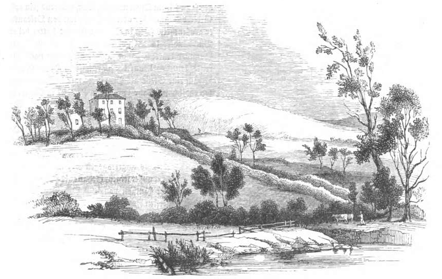 Illustrirte Zeitung (1843) 06 016 2 Southey's Haus, Gretahof