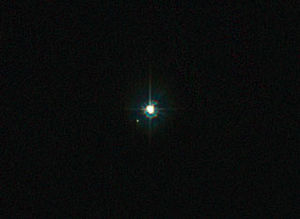 image of Image of the WR 25 binary