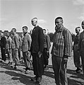 In het strafkamp te Vught, zijn 7000 Nederlandse collaborateurs en landverraders, Bestanddeelnr 900-4280.jpg