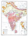 India in 1893, geological features.jpg