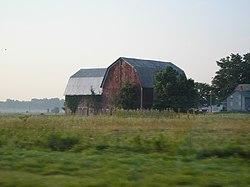 Una granja de Indiana.